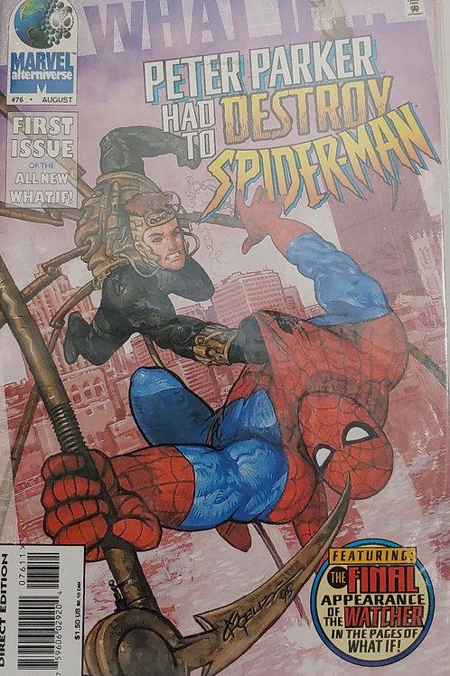What If... Vol. 2, #76. SPIDER-MAN
