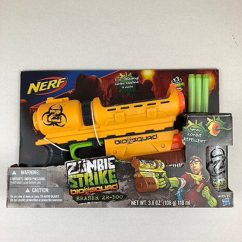 Nerf Zombie Strike Bio Squad Eraser ZR-100