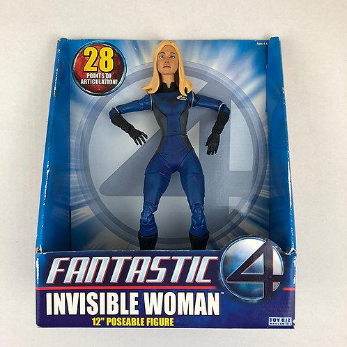 "Fantastic Four Invisible Woman 12"" Poseable Figure"