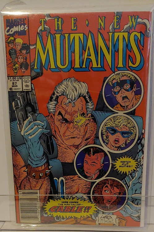 New Mutants #87  1st Cable!