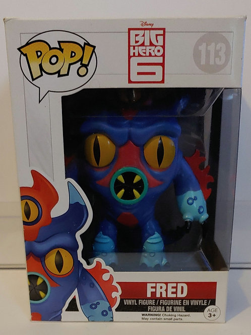 Disney Big Hero 6 Fred pop