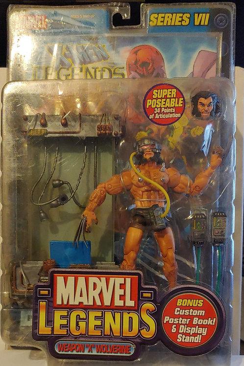 Marvel Legends Series 7 Weapon X