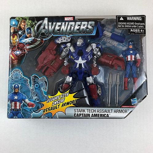 Avengers Stark Tech Assault Armor Captain America