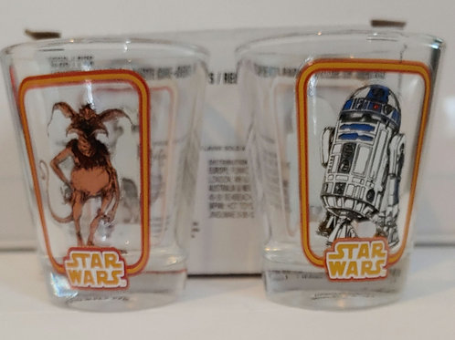 """Funko exclusive Salacious Crumb and R2-D2 """" toothpick holders"""""""