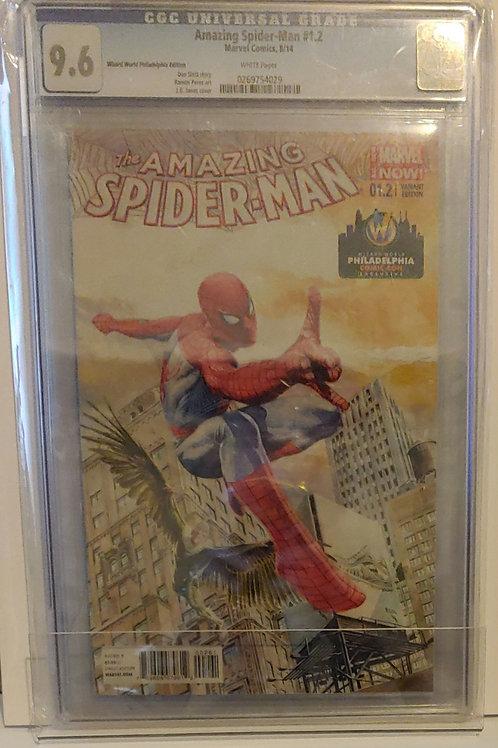 Amazing Spider-man #1.2 - Philadelphia Comic Con exlusive