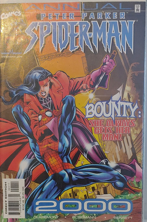 Peter Parker Spider-man Annual 2000