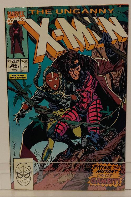 Uncanny X-Men #266  1st Gambit!