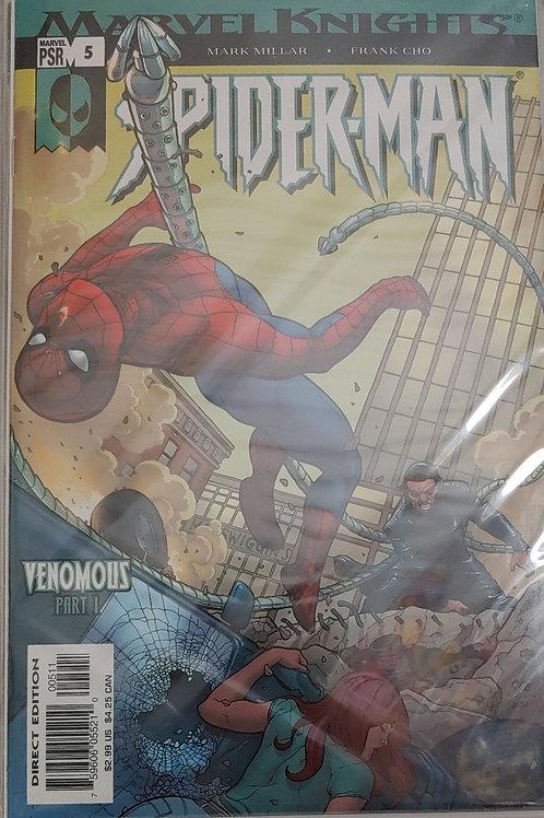 Marvel Knights Spider-man 5-8 arc