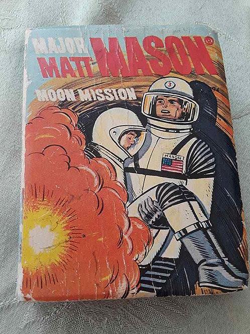 Major Matt Mason Moon Mission Book