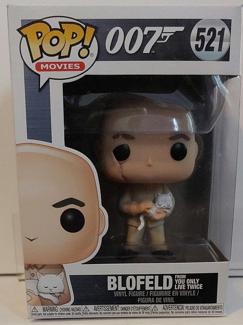 James Bond Blofeld villain