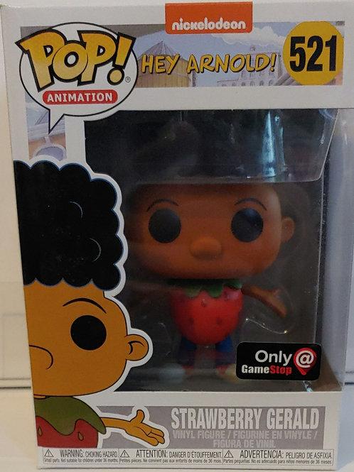 Hey Arnold! Strawberry Gerald - Gamestop exclusive