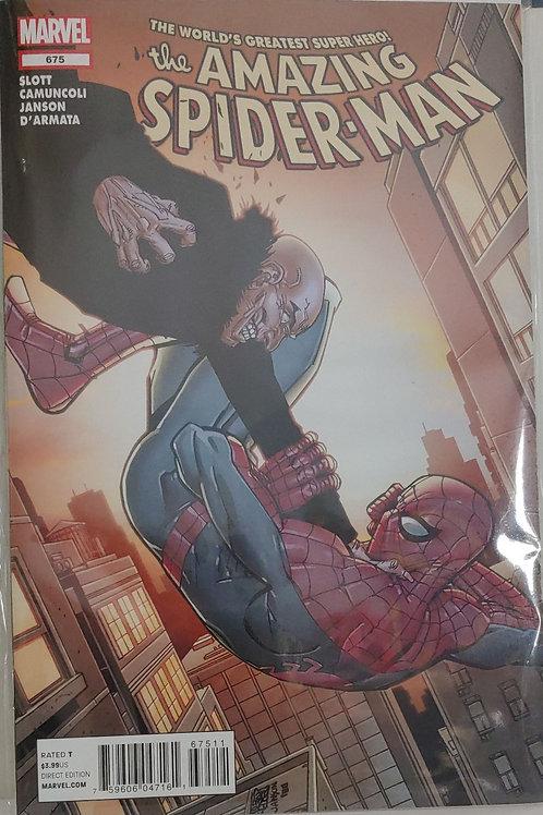 Amazing Spider-man # 675