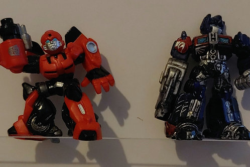 Transformers Best Buy Exclusive Cliffjumper and Optimus Prome