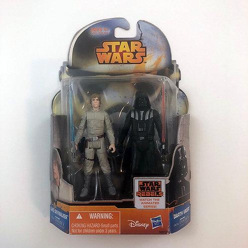 Star Wars Disney Luke Skywalker & Darth Vader from Episode V