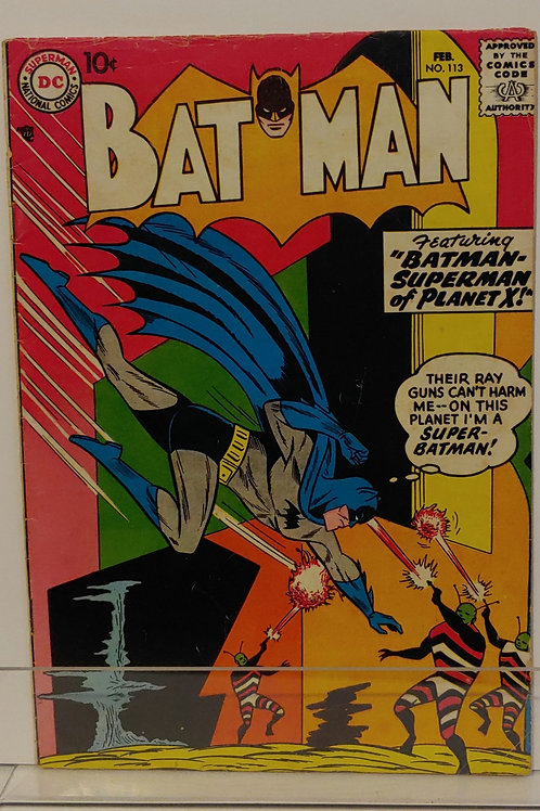 Batman #113 - includes lots of firsts!