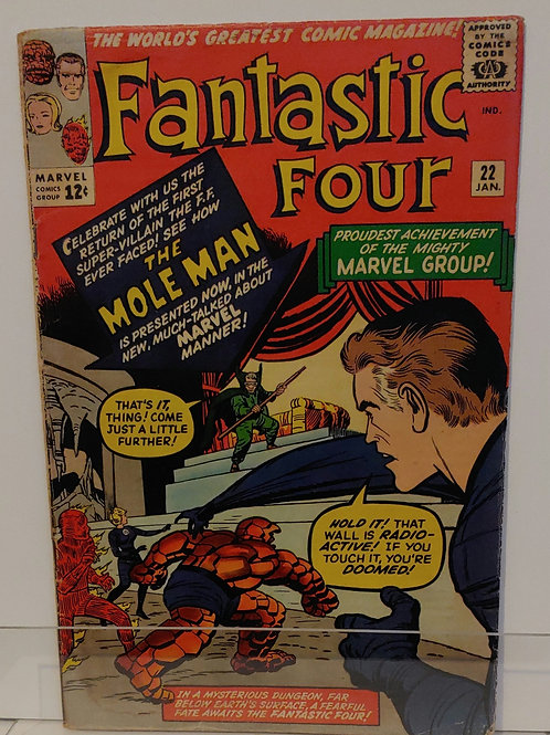 Fantastic Four #22 - Solid copy!