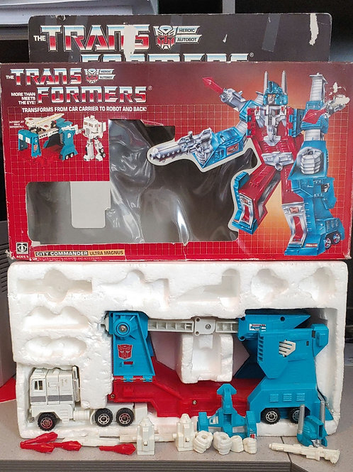 Transformers G1 Ultra Mangus - complete with box!