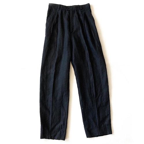 Pantalon Yves Saint Laurent Rive Gauche en lin