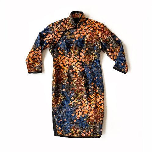 Robe d'inspiration asiatique faite main