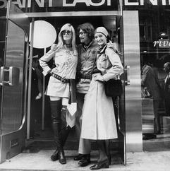 Yves Saint Laurent, Betty Catroux et Loulou de la Falaise