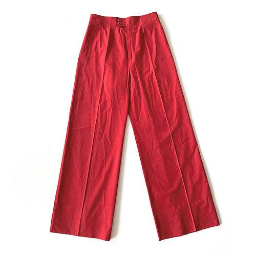 Pantalon en coton Saint Laurent Rive Gauche