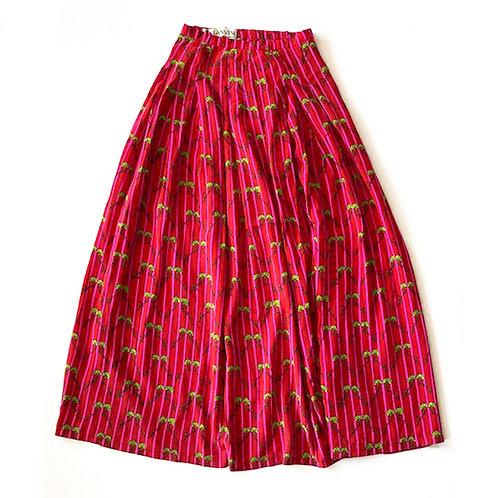 Jupe longue en soie Lanvin haute couture