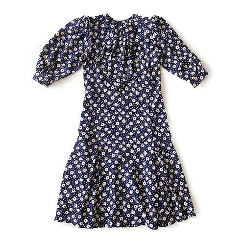 Robe Yves Saint Laurent haute couture, fin des années 1970