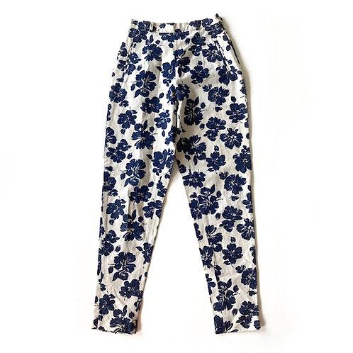 Pantalon Fabric & Model en coton et lin