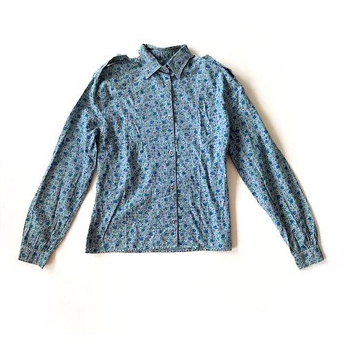 Chemise des années 1970 en coton