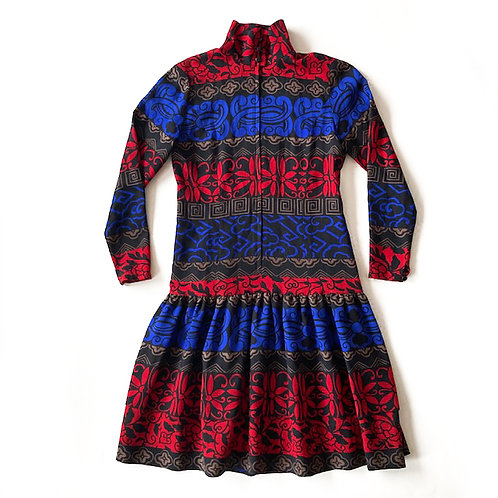 Robe Guy Laroche en étamine de laine