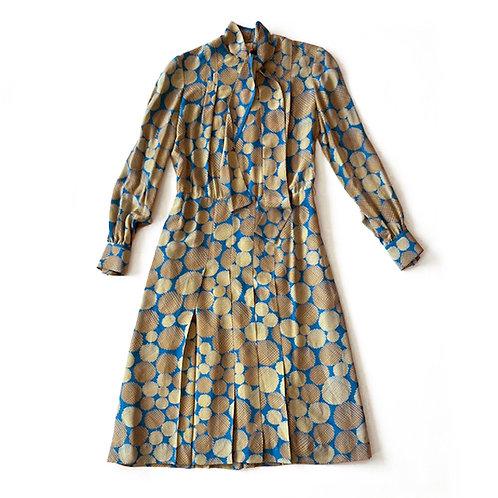 Robe couture en soie Guillemin