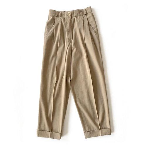 Pantalon en laine et coton Cerruti 1881