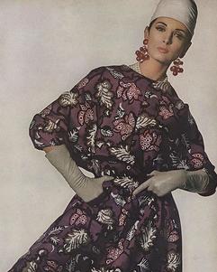 Photo d'Irving Penn dans Vogue, 1965