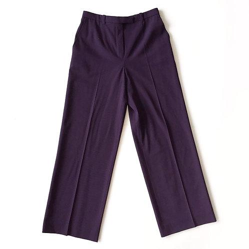 Pantalon Hermès en laine froide