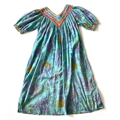 Robe Chacok en voile de coton et détails lurex