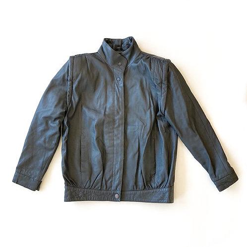 Blouson des années 80 en cuir