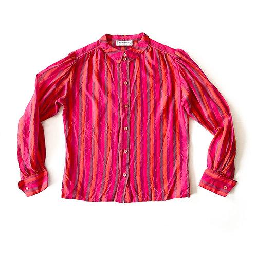 Chemise Yves Saint Laurent cowear en coton et soie