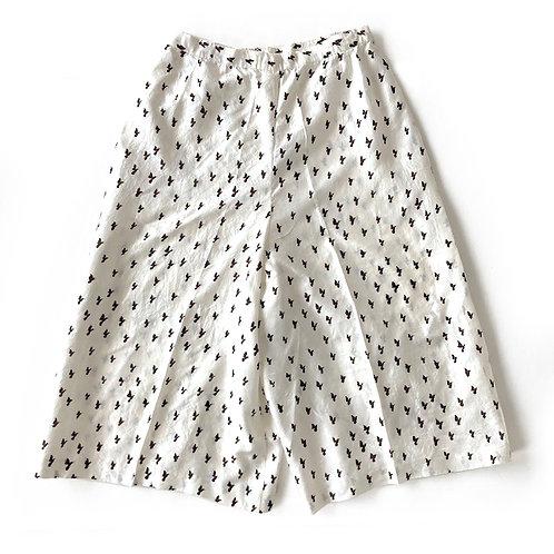 Jupe culotte en soie (partie d'un ensemble jupe culotte)