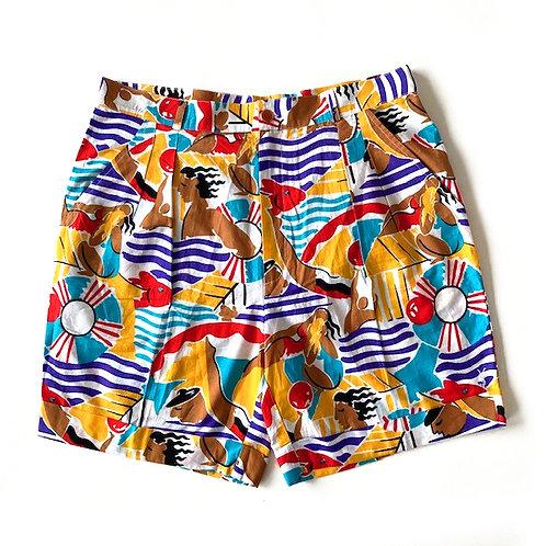 Bermuda en coton Yves Saint Laurent maillots de bain (modèle homme)