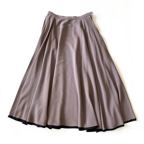 Longue jupe Saint Laurent Rive Gauche