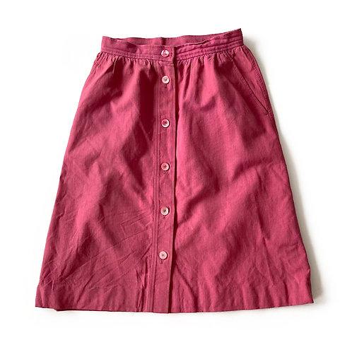 Jupe en coton Saint Laurent Rive Gauche (partie d'un ensemble jupe)