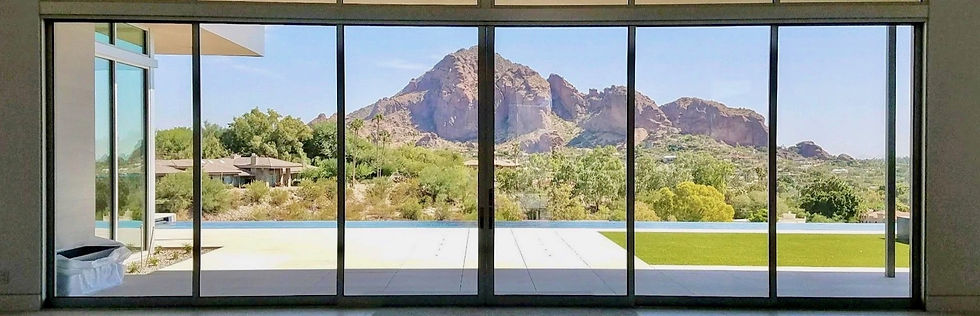 Residential Solar Control Window Film Scottsdale Arizona picture of Camelback Mountain