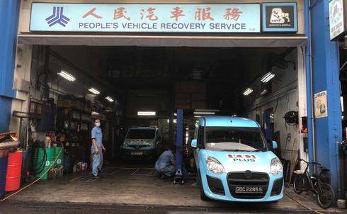 Servicing of Van