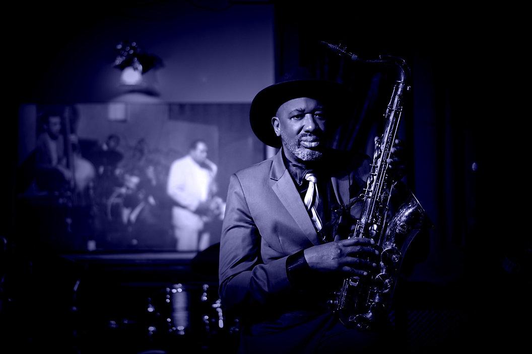 Derrick Big Walker blues harmonica
