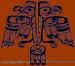Blues Walker logo Blues Flame