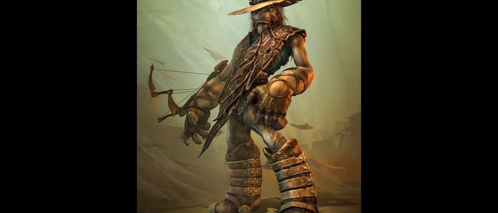 Alien Cowboy by Big Walker/Dark Walker