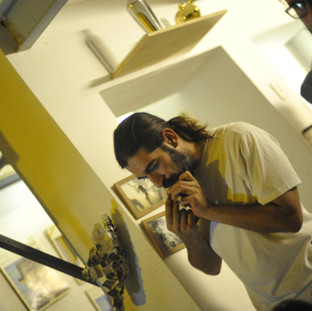 Evandro Machado durante apresentação no espaço Saracura / RJ