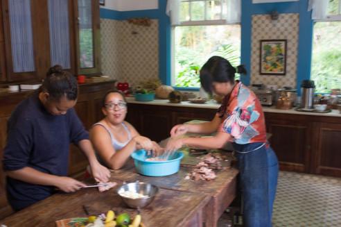 Fazendo pão