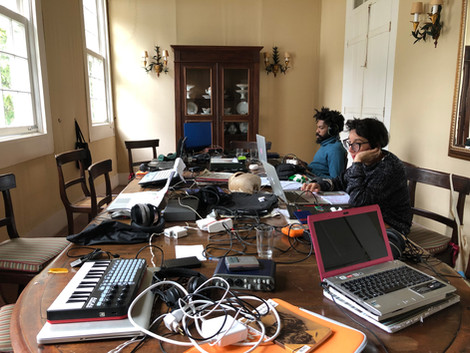 silence/editing room