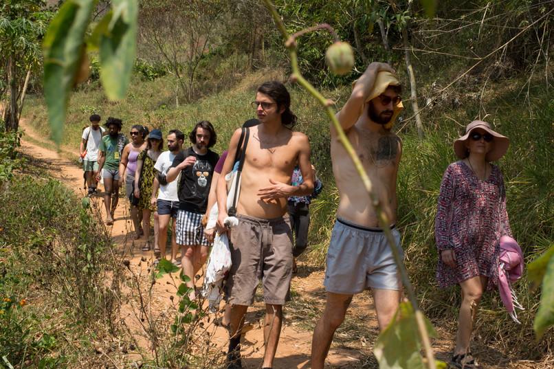 arrival trekking